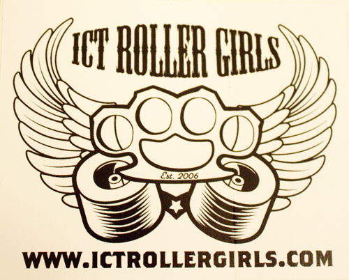 ICT Roller Girls Decal